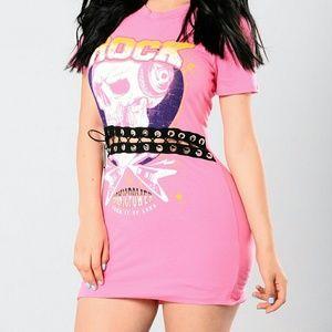 Fashion Nova rock t-shirt